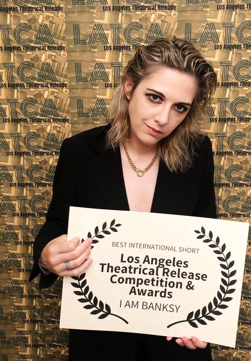 La regista Samantha Casella
