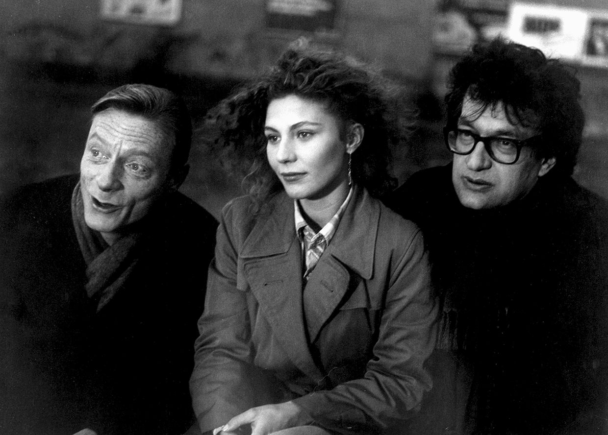 B.Ganz_S.Dommartin_W.Wenders1987 ® Wim Wenders Stiftung _ Argos Films. All rights reserved