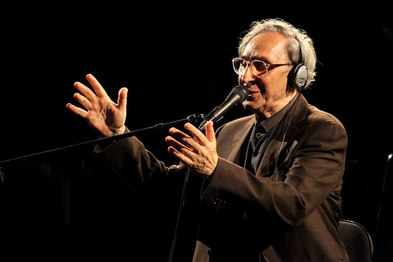 Franco Battiato (foto di Vincenzo Viscuso)
