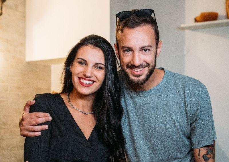 Carolina Stramare con Daniele Di Benedetti
