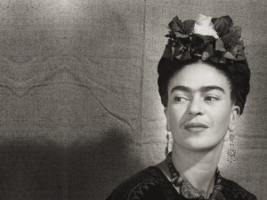 Bernard Silberstein (1905–1999), United States, Frida Kahlo, circa 1940, printed 1984, gelatin silver print, Cincinnati Art Museum Museum Purchase, 1986.580, © Edward B. Silberstein