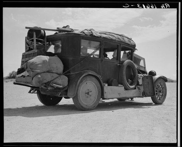 The Grapes of Wrath mostra Furore - Courtesy of US Library of Congress