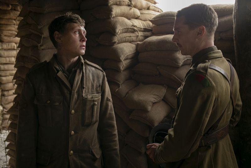 George MacKay e Benedict Cumberbatch