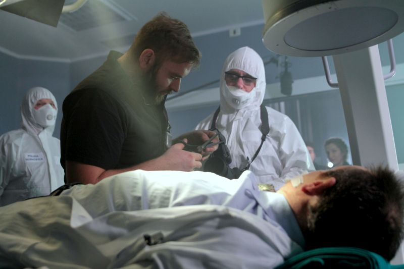 "Foto dal set di ""Stem Cell"""