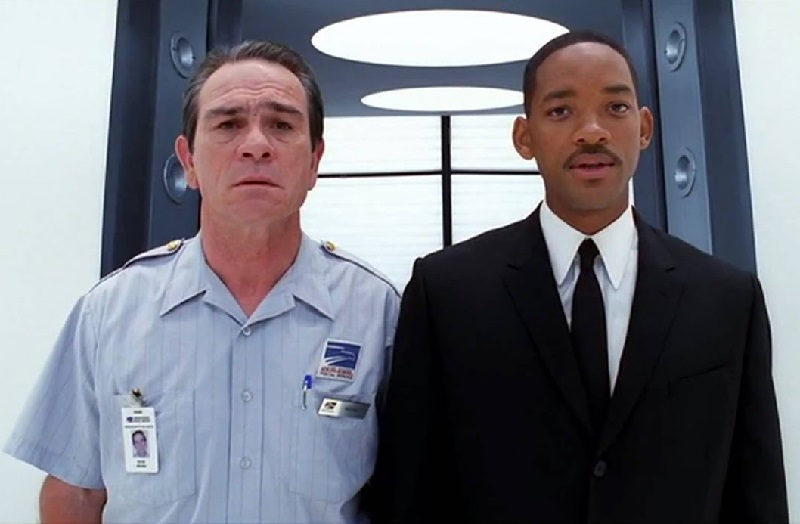 Tommy Lee Jones e Will Smith