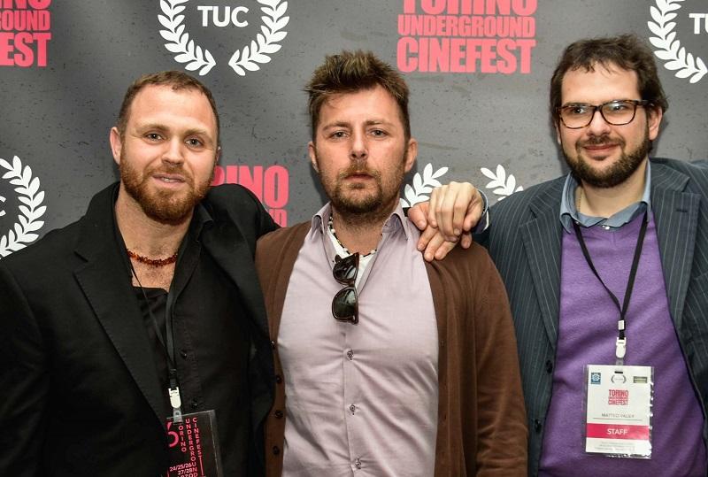 Il team del Torino Underground Cinefest