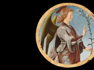 Angelo Annunciante Francesco del Cossa Collezione Cagnola, Gazzada