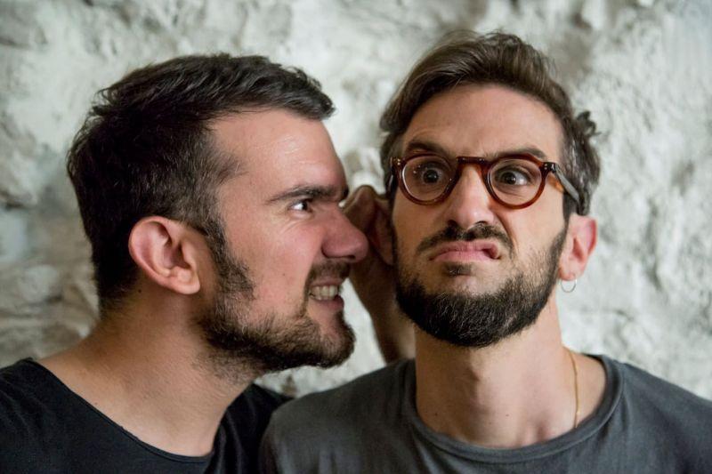 Marco Iannitello (a sinistra) e Michela Abbondanza (a destra), ovvero I Photogenici