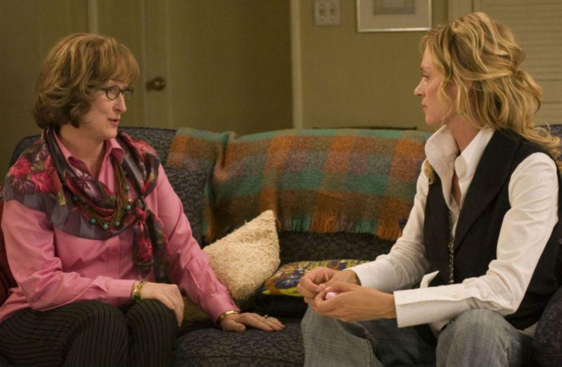 "Insieme a Meryl Streep in ""Prime"""