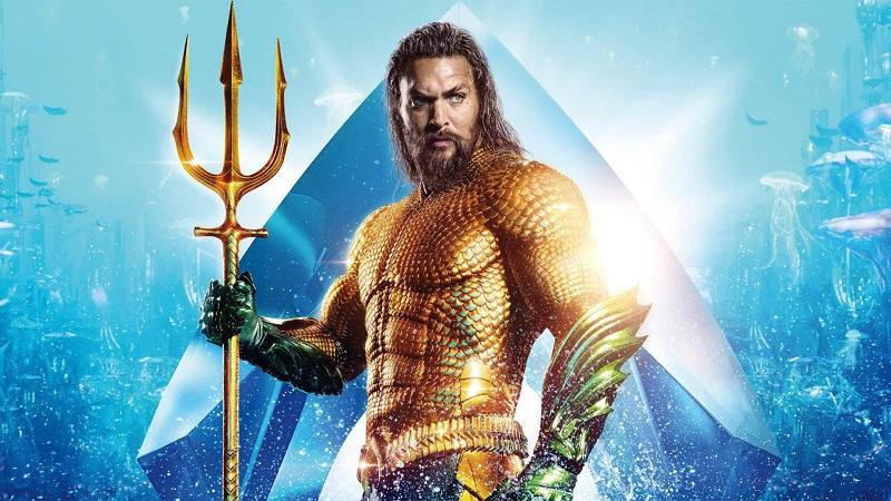 """Jason Momoa è """"Aquaman"""""""