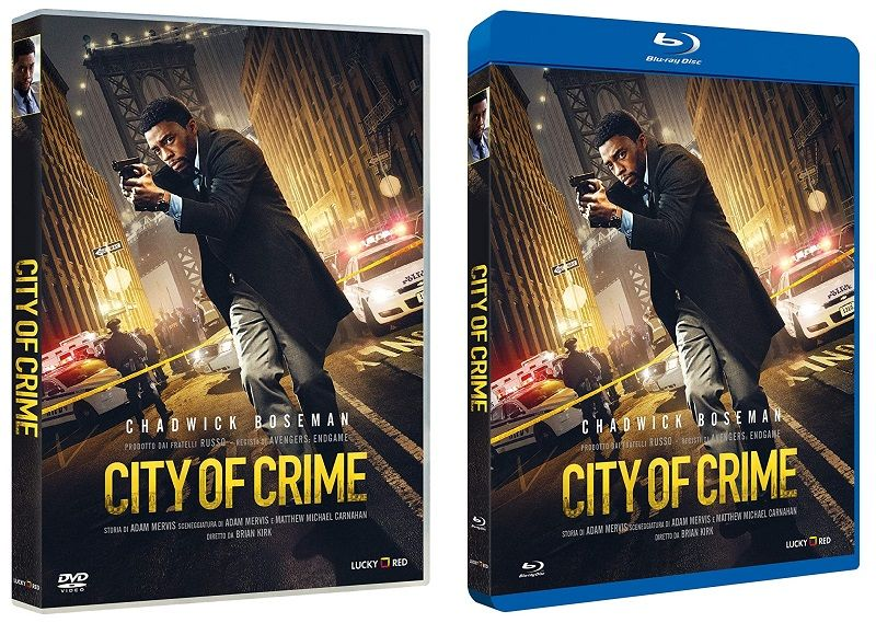 City Of Crime Home Video