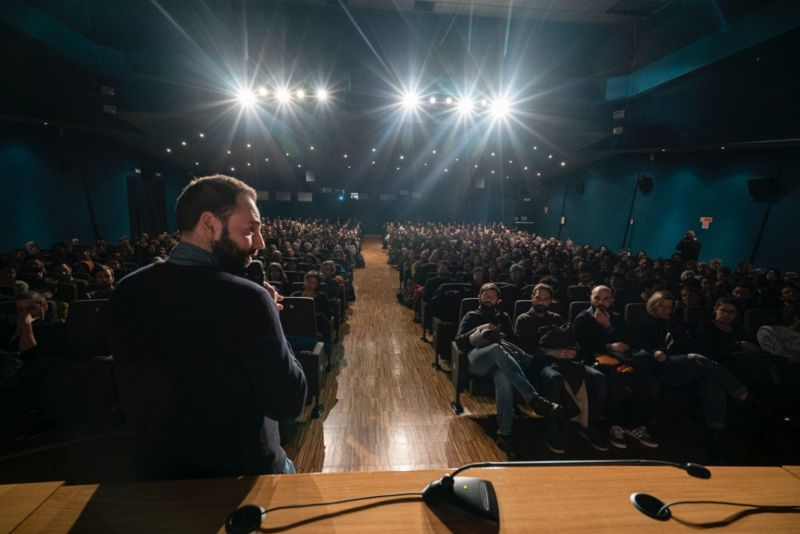 Luigi D'Alife al Cinema Massimo di Torino