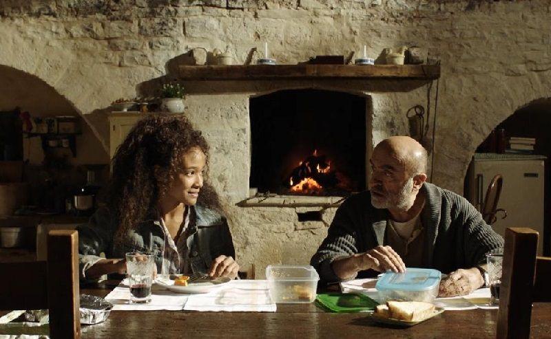 """Virginia Diop e Ivano Marescotti in """"Bar Giuseppe"""""""