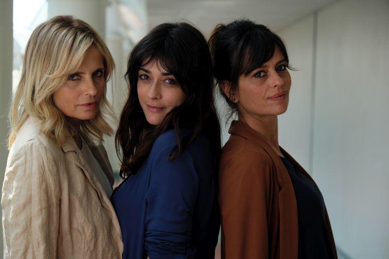 Isabella Ferrari, Valentina Lodovini e Claudia Pandolfi (Foto di Fabio Lovino)