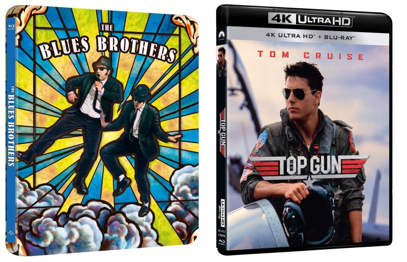 The Blues Brothers Top Gun 4k UHD