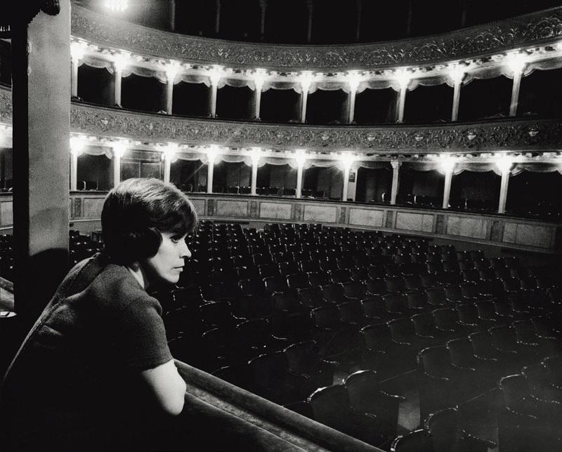 """""""Le catacombe"""" Teatro Valle, Roma (1962). © MONDADORI PORTFOLIO PREMIUM"""