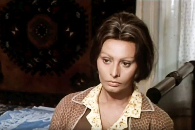 "Sophia Loren ne ""I Girasoli"" di Vittorio De Sica"
