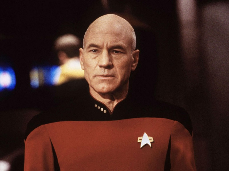 """In """"Star Trek"""" nel ruolo di Picard"""