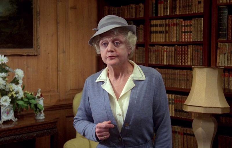 "Angela Lansbury in ""Assassinio Allo Specchio"" (1980)"
