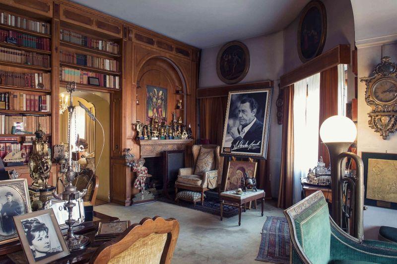 Villa Sordi, lo studio