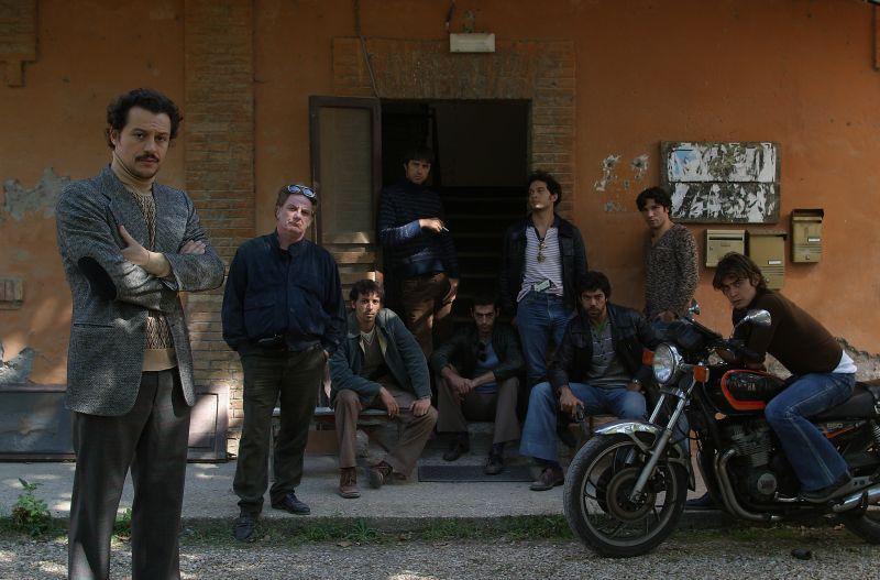 """Il cast principale di """"Romanzo Criminale"""""""