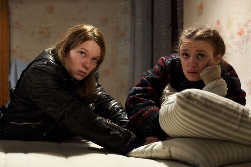 Léa Seydoux e Sara Forestier (foto di Shanna Besson)