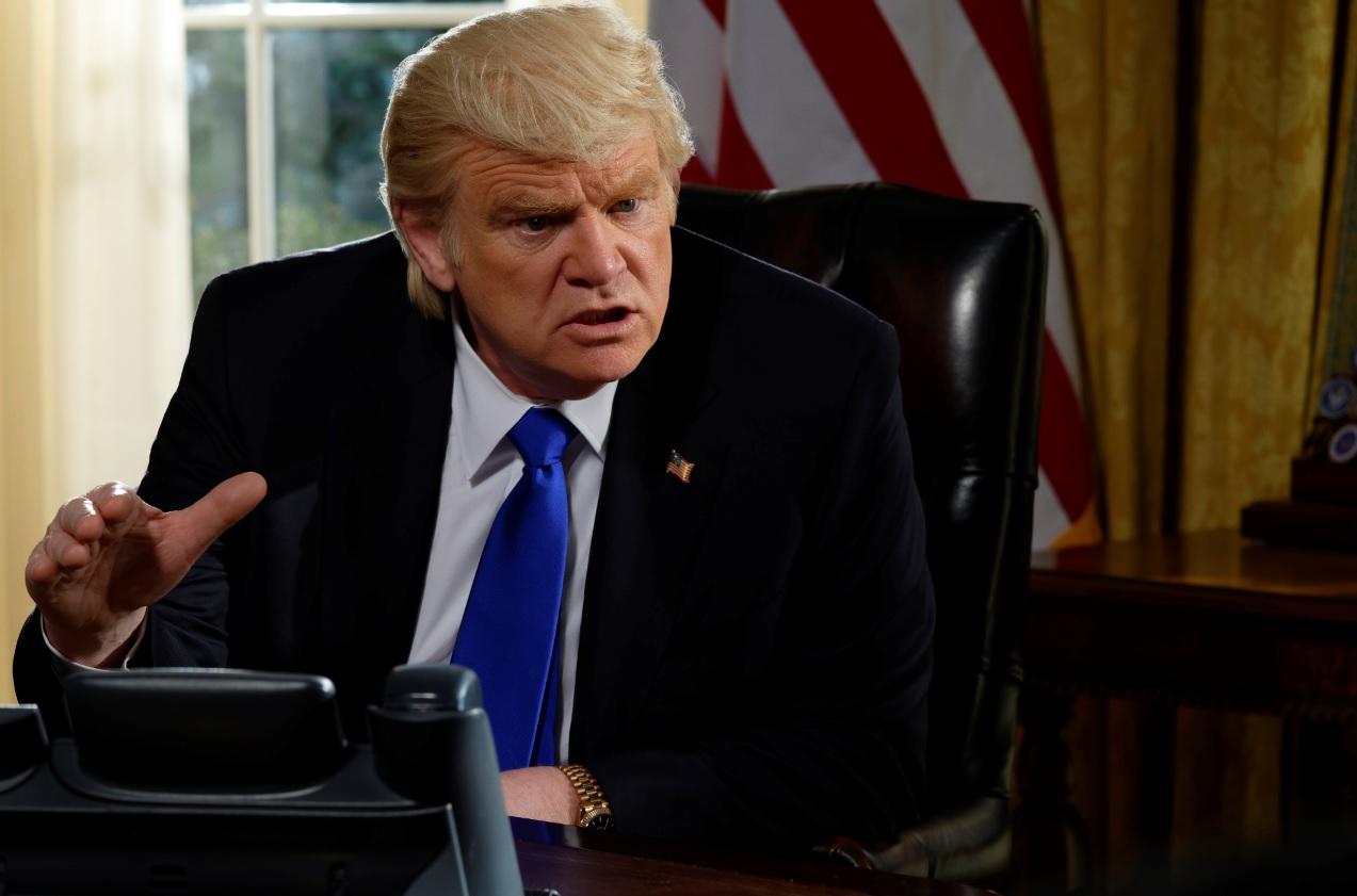 Brendan Gleeson è Donald Trump