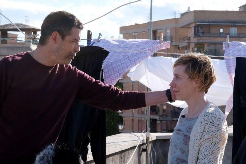 Alessandro Gassmann e Giada Prandi (foto di Fabrizio De Blasio)
