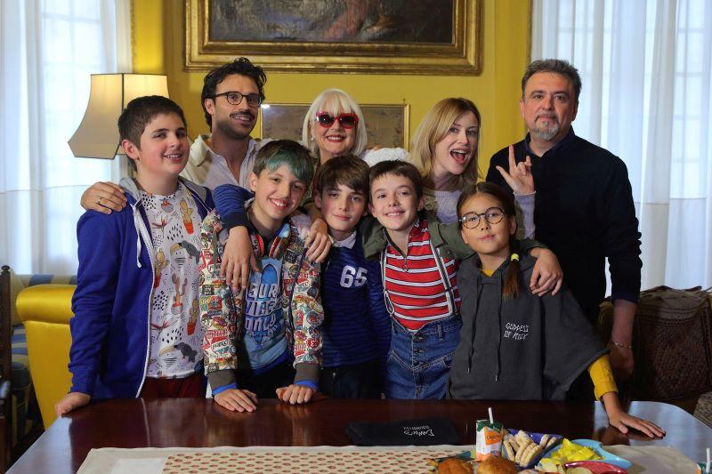 Glassboy 2 Samuele Rossi, Loretta Goggi, Giorgia Wuth, Emanuele Nespeca e i protagonisti del film
