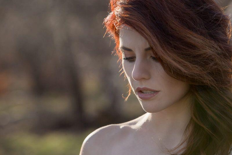 Jennifer Mischiati in un nuovo scatto di Mario Parruccini