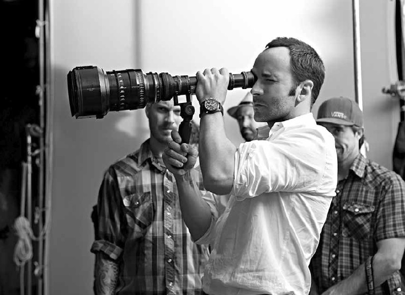 Tom Ford sul set di A Single Man (2009) da www.IMDb.com ©Artina Films, Depth of Field, Fade To Black Productions, Archibald Film