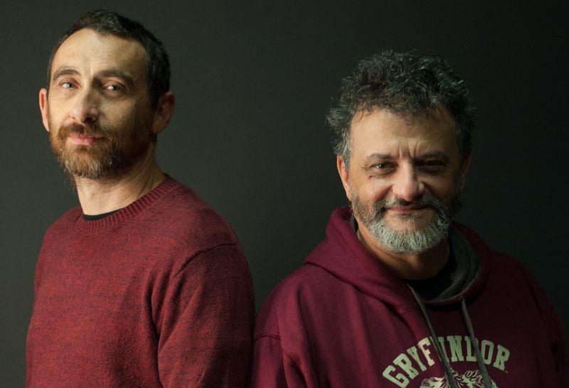 Antonio e Marco Manetti, noti come Manetti Bros (foto di Gerald Bruneau)