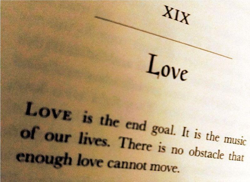 """""""Regola XIX - Love, Amore"""""""