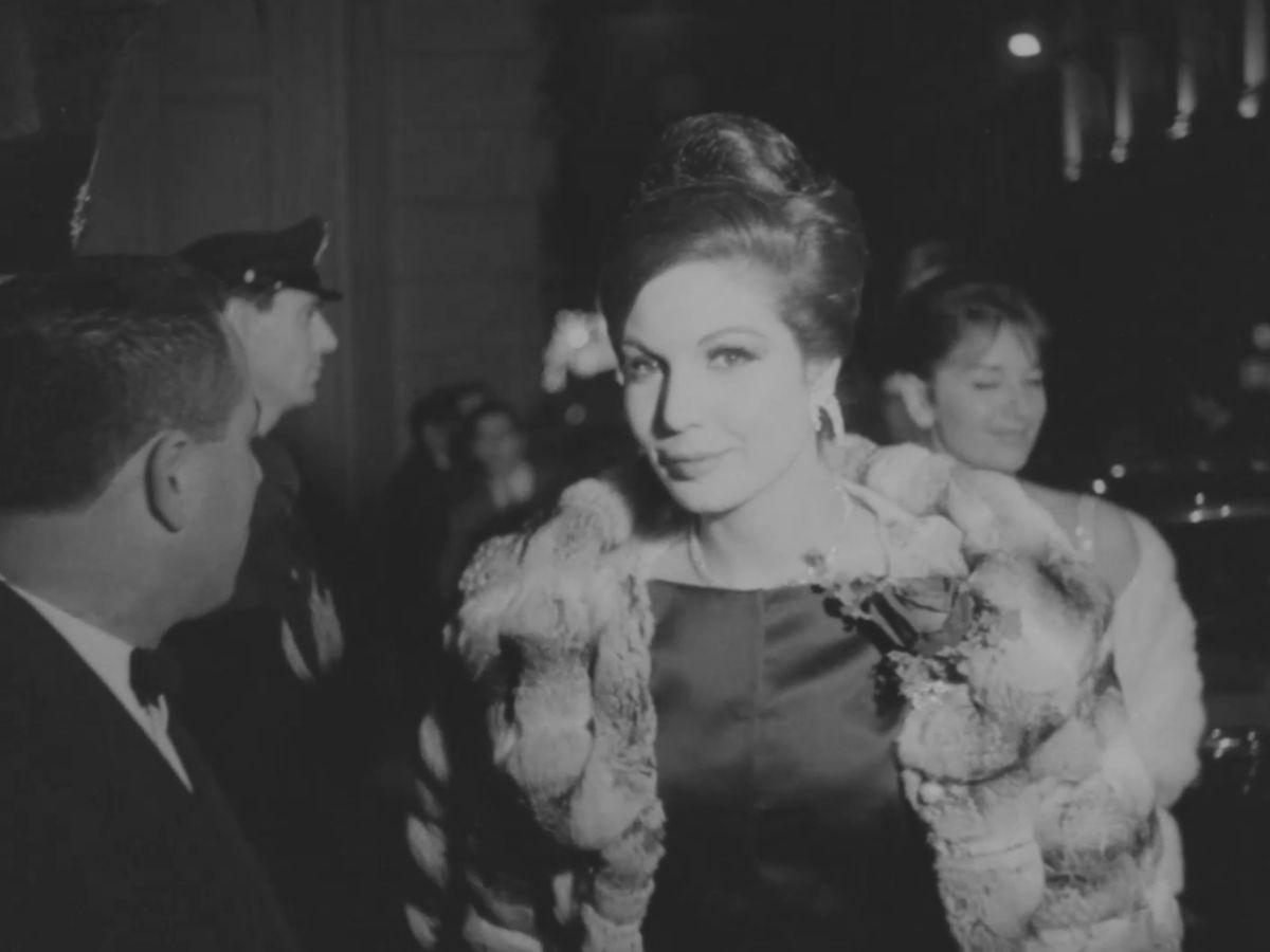 Ingresso alla prima del Teatro alla Scala del 1961