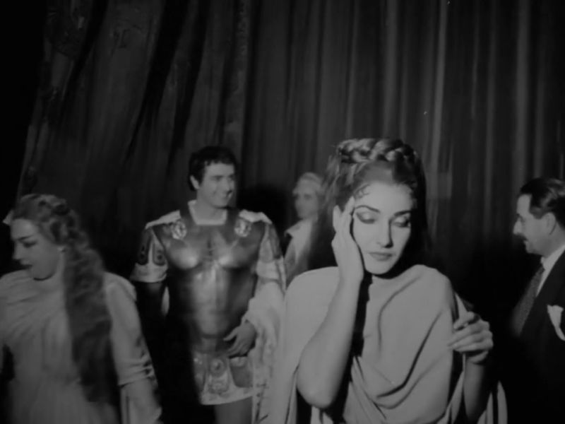 Maria Callas al Teatro alla Scala