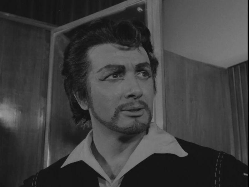 Franco Corelli alla prima del 1962