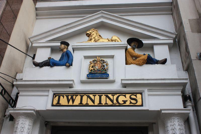 Twinings sullo Strand a Londra