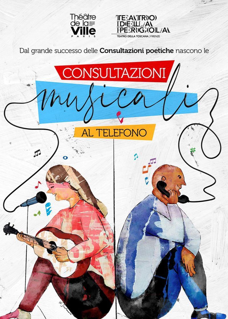 Consultazioni musicali al telefono_ immagine Walter Sardonini