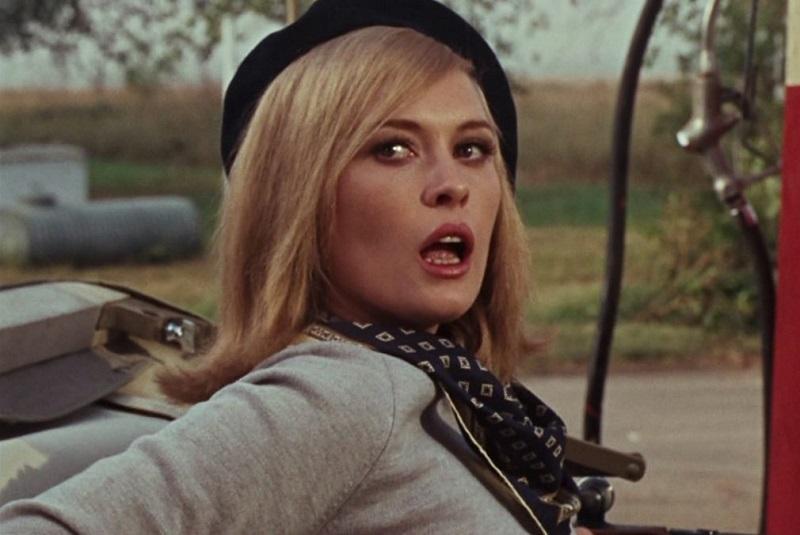 "Faye Dunaway in ""Gangster Story"""