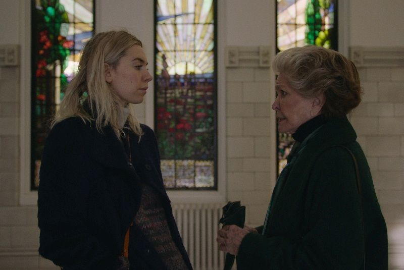 PIECES OF A WOMAN: (L to R) Vanessa Kirby as Martha, Ellen Burstyn as Elizabeth