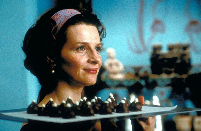 """Juliette Binoche con i """"Capezzoli di Venere"""""""