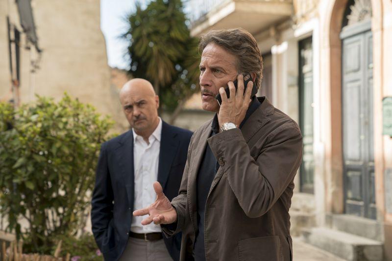 Luca Zingaretti e Cesare Bocci (foto di Duccio Giordano)