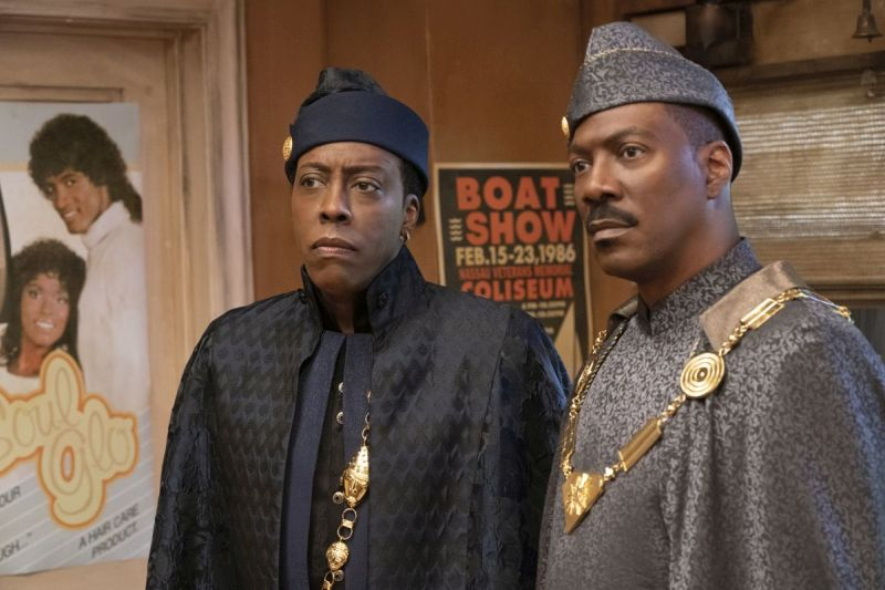 Arsenio Hall e Eddie Murphy (Photo Courtesy of Amazon Studios)