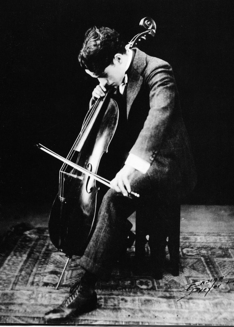 Ep 1 Chaplin playin Cello