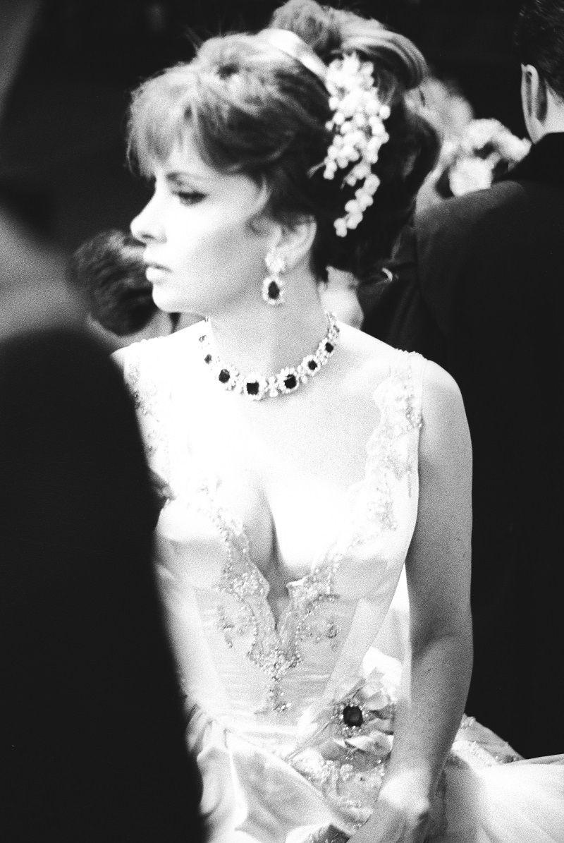 Gina Lollobrigida al Ballo di Montecarlo, anni '60_©Archivio Fotografico Paolo Di Paolo