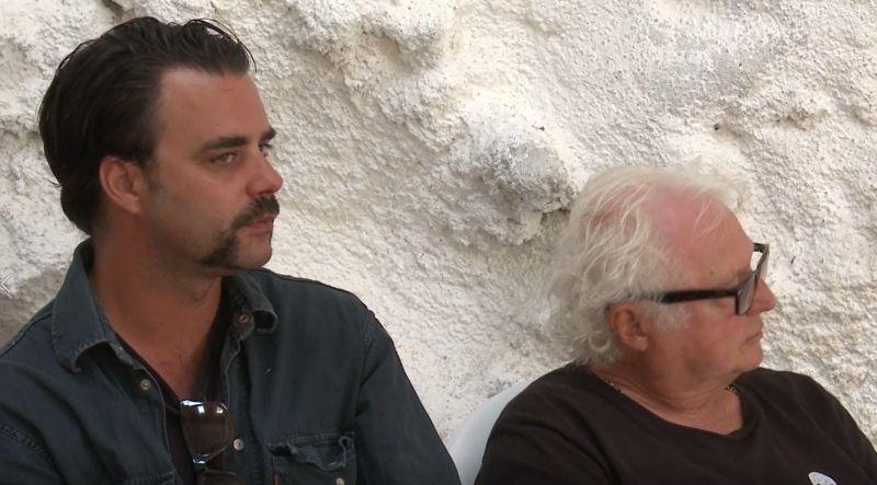 Giovanni Morassutti e John Strasberg durante la Film Acting Masterclass a La Mama Umbira Int. (2015)