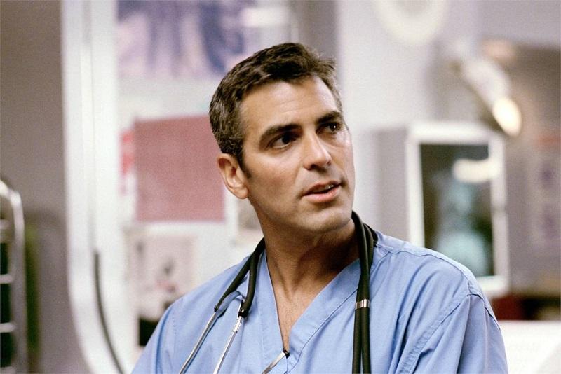 "George Clooney in ""ER Medici In Prima Linea"""