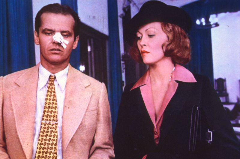 Jack Nicholson e Faye Dunaway