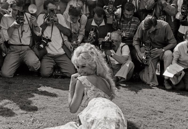 MARIO DE BIASI - Brigitte Bardot, Venezia, 1957