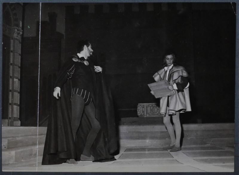 Giorgio De Lullo, Ronconi, Lorenzaccio.1954